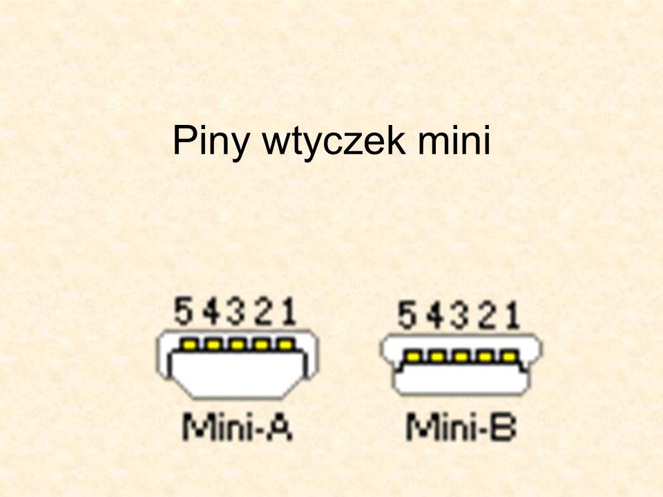 USB 1.1 / USB 2.0 specyfikacja Typ interfejsu:szeregowyTransfer:USB 1.1: 1.5 lub 12 Mbit/s USB 2.0: 1.5, 12 lub 480 Mbit/sMaks.