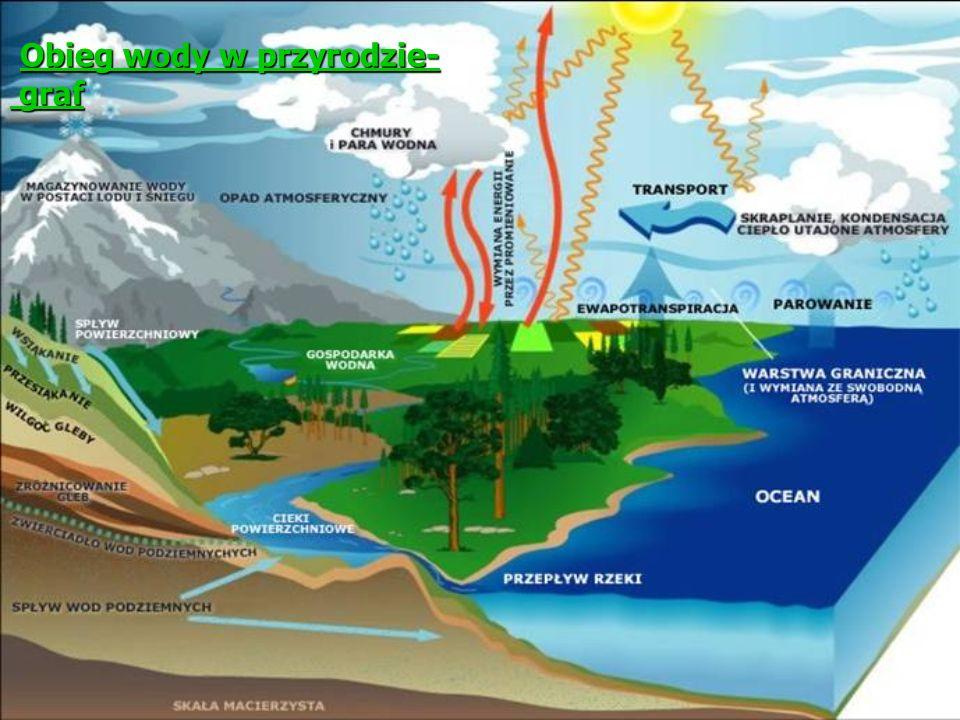 Obieg wody w przyrodzie- graf Obieg wody w przyrodzie- grafObieg wody w przyrodzie- grafObieg wody w przyrodzie- graf