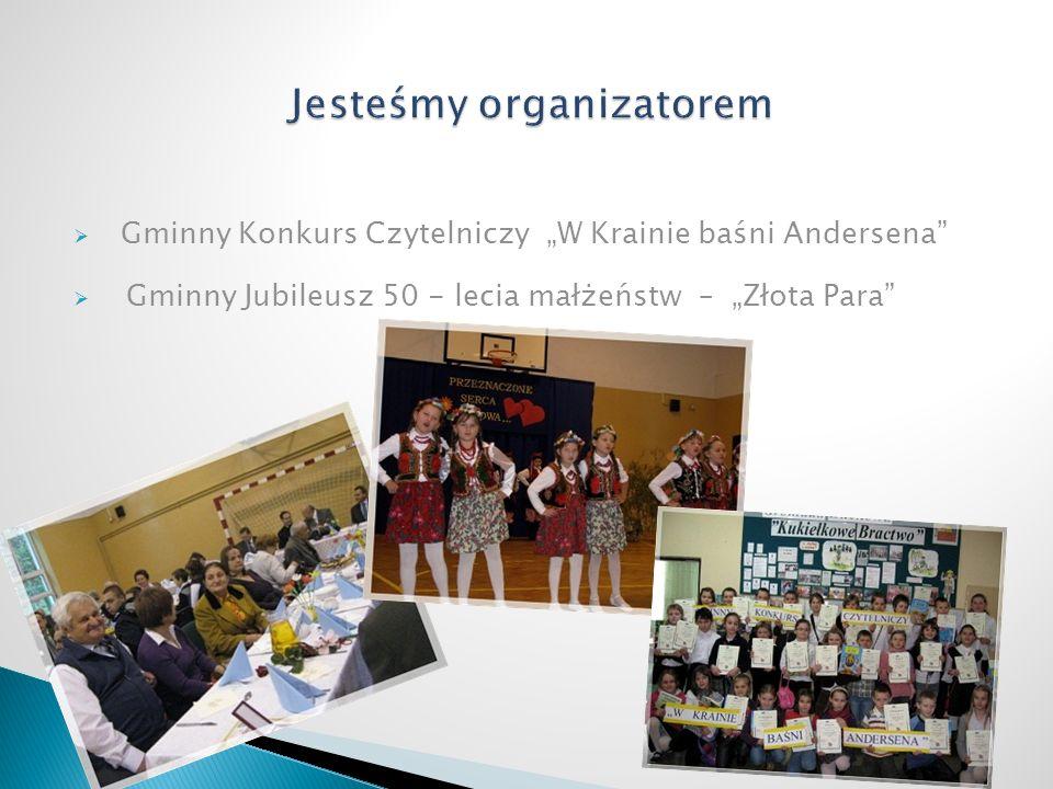Gminny Konkurs Czytelniczy W Krainie baśni Andersena Gminny Jubileusz 50 - lecia małżeństw – Złota Para