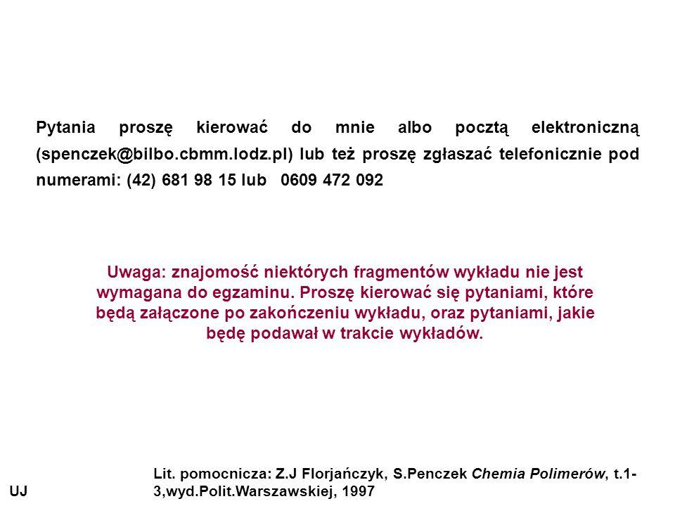 Pytania proszę kierować do mnie albo pocztą elektroniczną (spenczek@bilbo.cbmm.lodz.pl) lub też proszę zgłaszać telefonicznie pod numerami: (42) 681 9