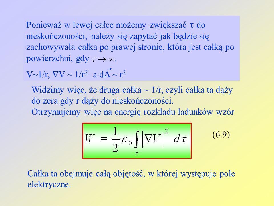 Ponieważ w lewej całce możemy zwiększać do nieskończoności, należy się zapytać jak będzie się zachowywała całka po prawej stronie, która jest całką po