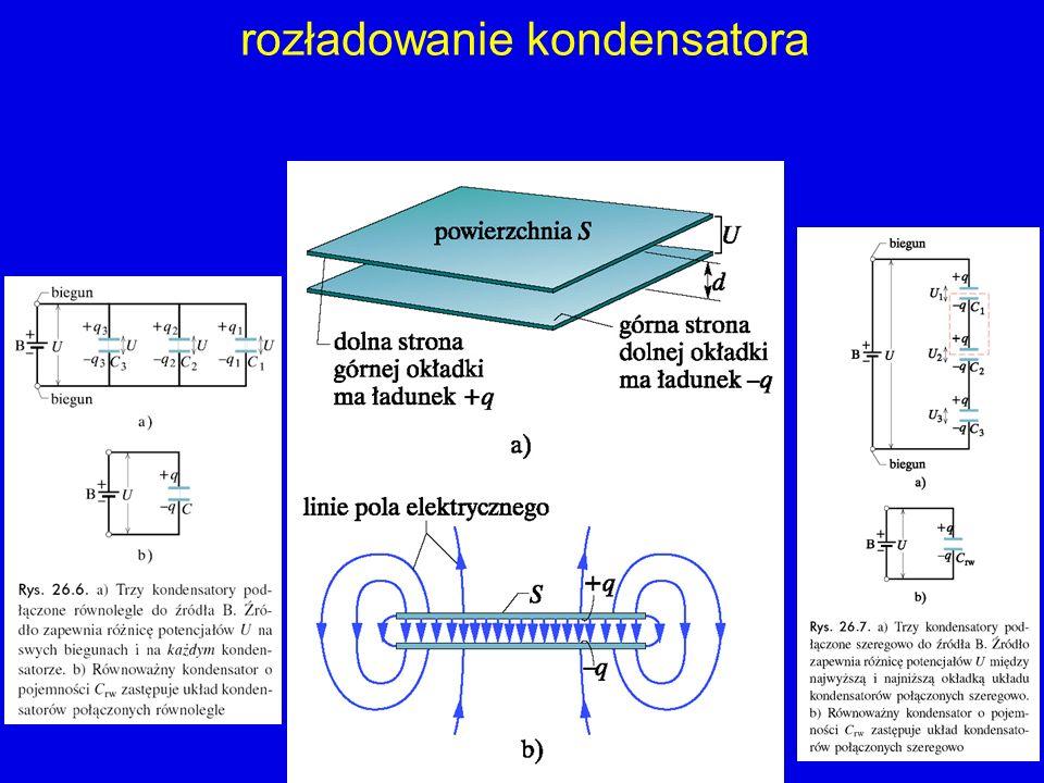 rozładowanie kondensatora