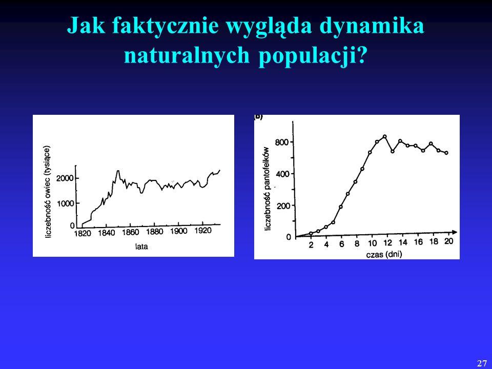 27 Jak faktycznie wygląda dynamika naturalnych populacji?