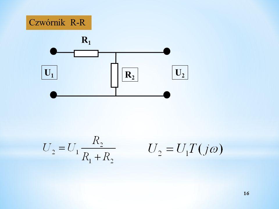 16 Czwórnik R-R R1R1 R2R2 U1U1 U2U2