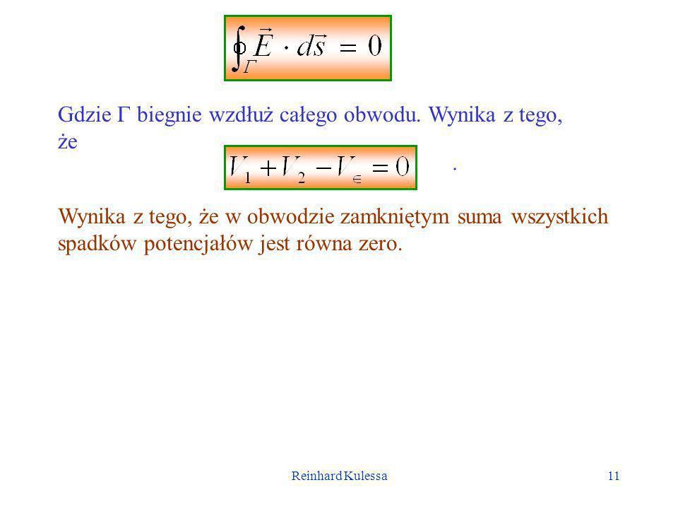 Reinhard Kulessa12 9.4.1 Siła elektromotoryczna Przy omawianiu prawa Ohma zakładaliśmy, że między końcami rozważanego przewodnika istnieje stała różnica potencjałów.