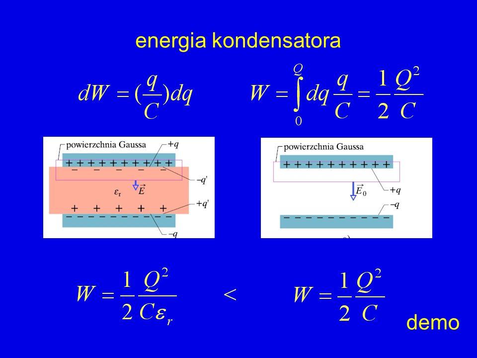 energia kondensatora demo
