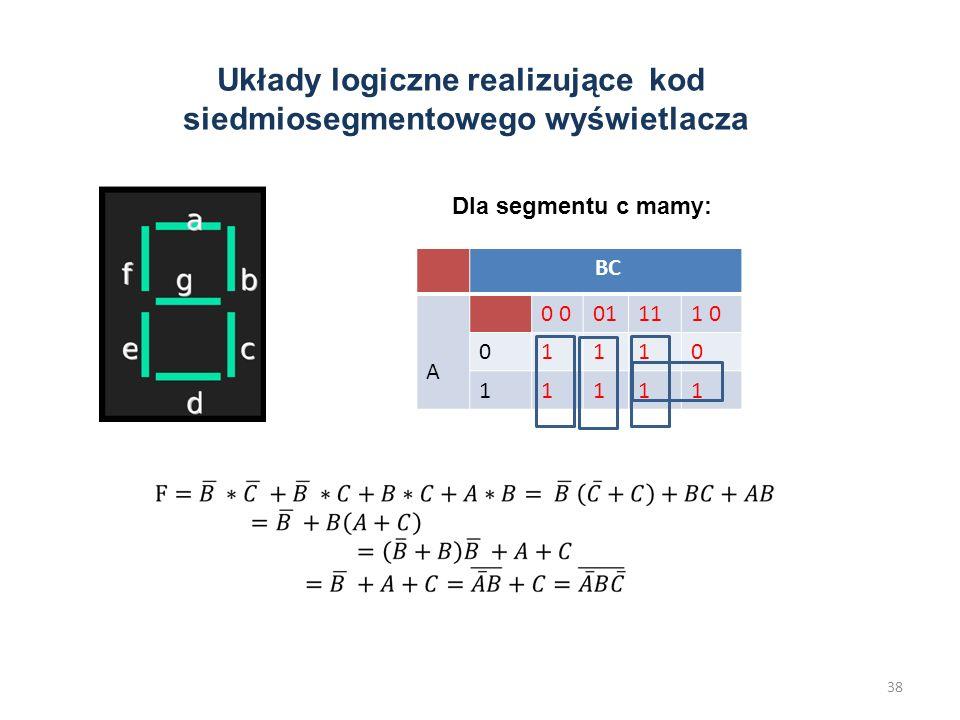 Kody, konwertery kodów Każda informacja może być przedstawiona jako określona kombinacja bitów. Kombinacja bitów przypisana danej informacji jest nazy