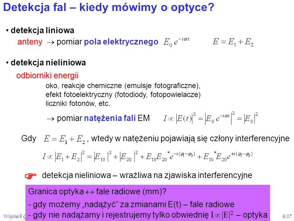 Wojciech Gawlik - Optyka, 2006/07 wykład 27/17 [ E.