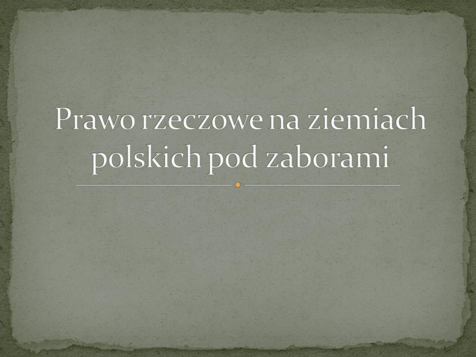 Kodeksy przejściowe z przełomu XVIII/XIX w.