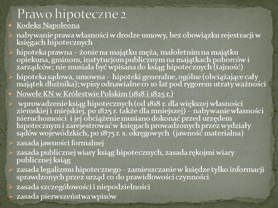 Prawo austriackie reforma józefińska – podział na dobra dominialne (nabywać je mogli magnaci, szlachta, mieszczanie Lwowa) i rustykalne (chłopi) 1780 r.