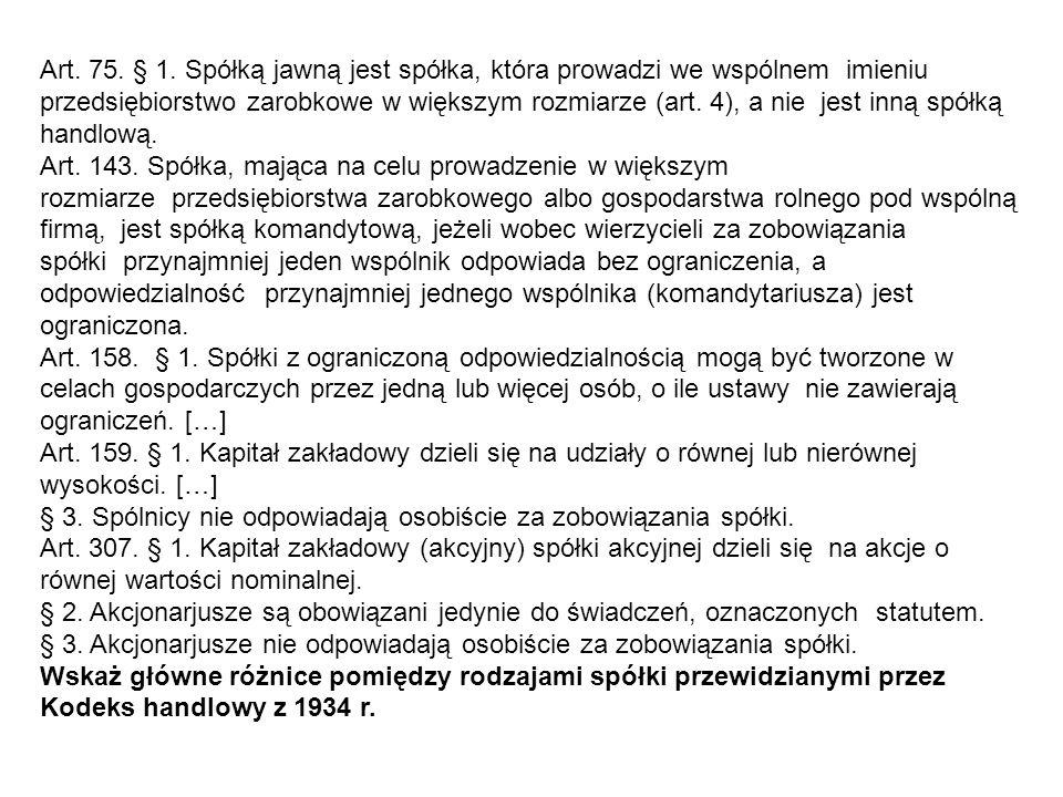 Kodeks Karny (1932 r.): Art.