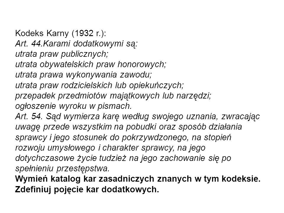 Kodeks karny 1932 r.: Art.14. § 1.