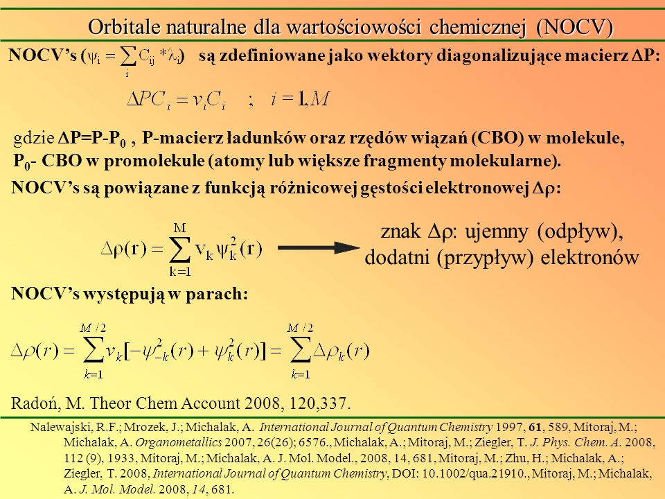 Neutral based catalyst with n-Pr Oddziaływanie agostyczne Mariusz P.