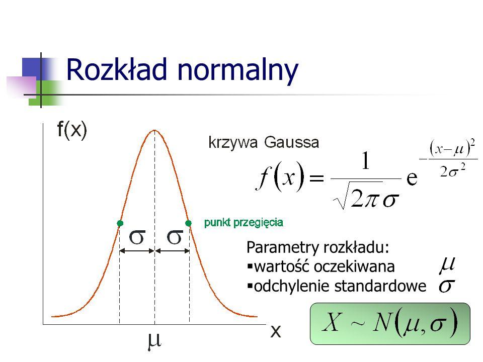 Wielowymiarowa zmienna losowa Wynik eksperymentu polegającego na równoczesnym pomiarze n liczb nazywamy n -wymiarową zmienną losową.