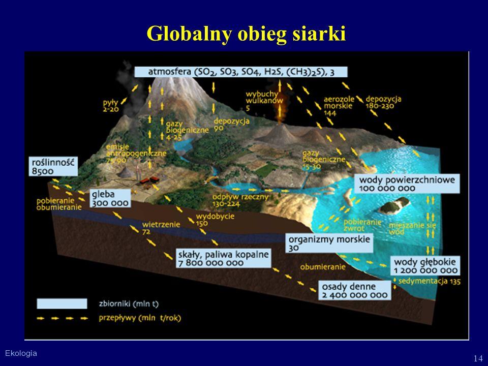 14 Ekologia Globalny obieg siarki