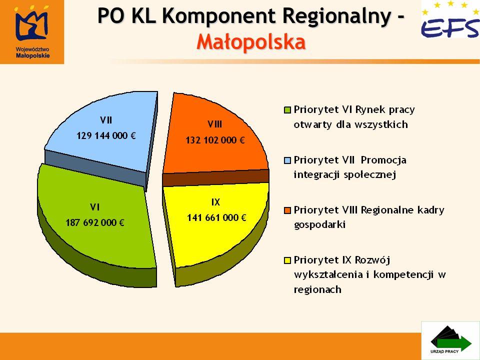 Priorytet VIII Regionalne kadry gospodarki 1.