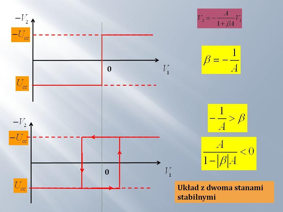 Na wejście (–) podane jest napięcie: Na wejście (+) podane jest napięcie: Napięcie na wejściu: