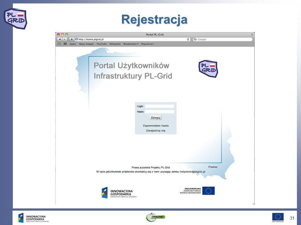 Rejestracja 31
