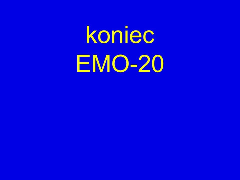 koniec EMO-20