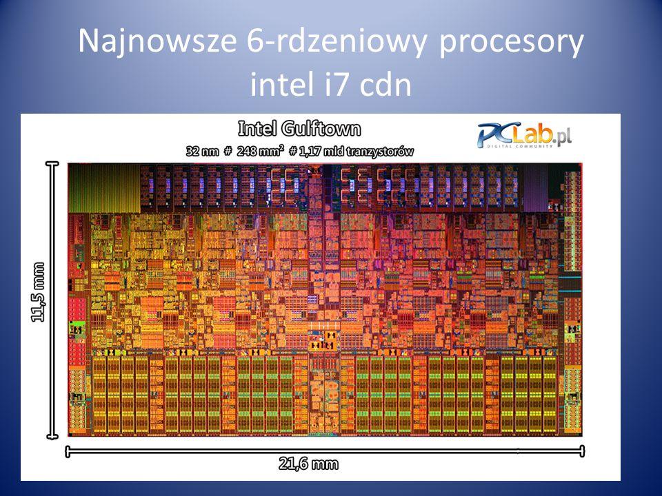 Najnowsze 6-rdzeniowy procesory intel i7 cdn