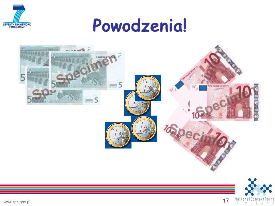 www.kpk.gov.pl 17 Powodzenia!