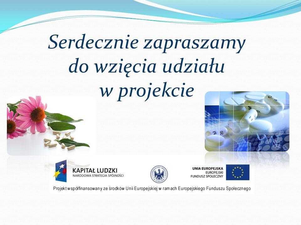 Serdecznie zapraszamy do wzięcia udziału w projekcie