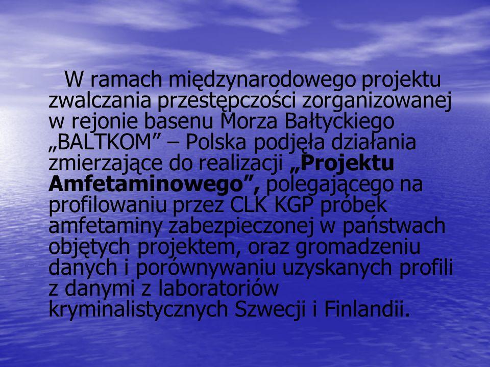 W ramach międzynarodowego projektu zwalczania przestępczości zorganizowanej w rejonie basenu Morza Bałtyckiego BALTKOM – Polska podjęła działania zmie