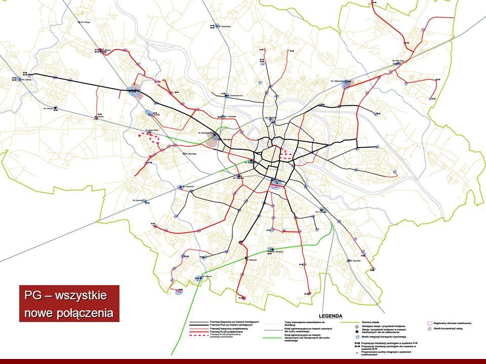 Rozstrzygnięcia Planu Generalnego w zakresie etapowania rozbudowy systemu tramwajowego Następne slajdy pokazują: Następne slajdy pokazują: a) zadania przewidziane do realizacji w pierwszej kolejności tj.