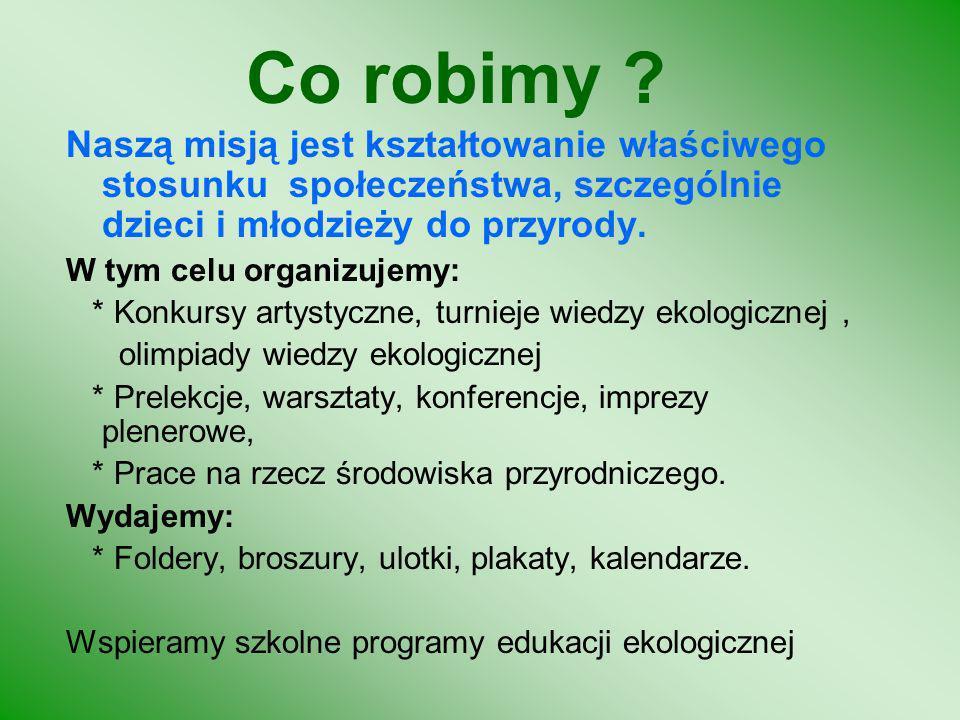 Liga Ochrony Przyrody ul. Jaśkowa Dolina 59 80-286 Gdańsk www.lop.gda.pl lopgdansk@op.pl