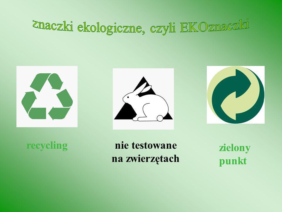 Produkty ze szkła nadają się do ponownego przerobu (recyklizacji) w: 100% Ze 100 ton makulatury można wyprodukować: 90 ton papieru z odzysku Rozkład p