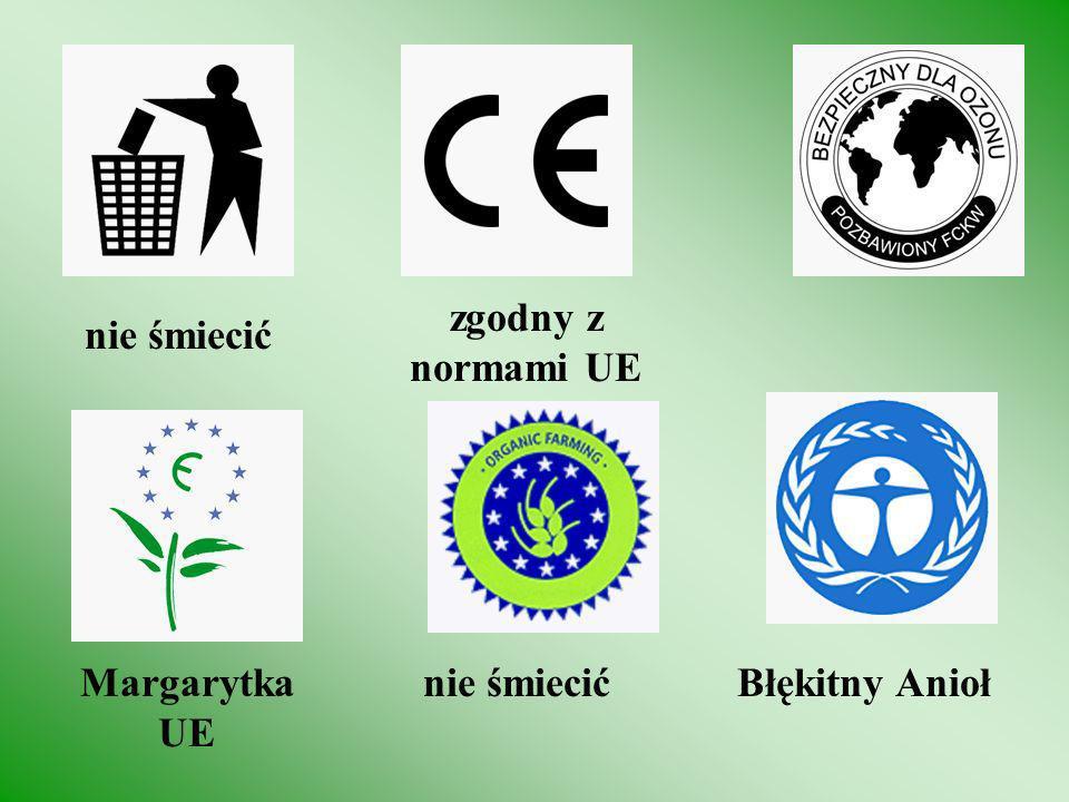 recyclingnie testowane na zwierzętach zielony punkt