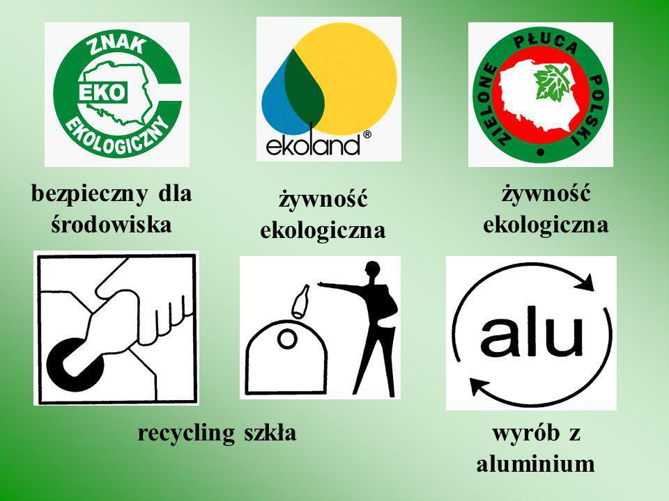 nie śmiecić zgodny z normami UE Margarytka UE Błękitny Aniołnie śmiecić