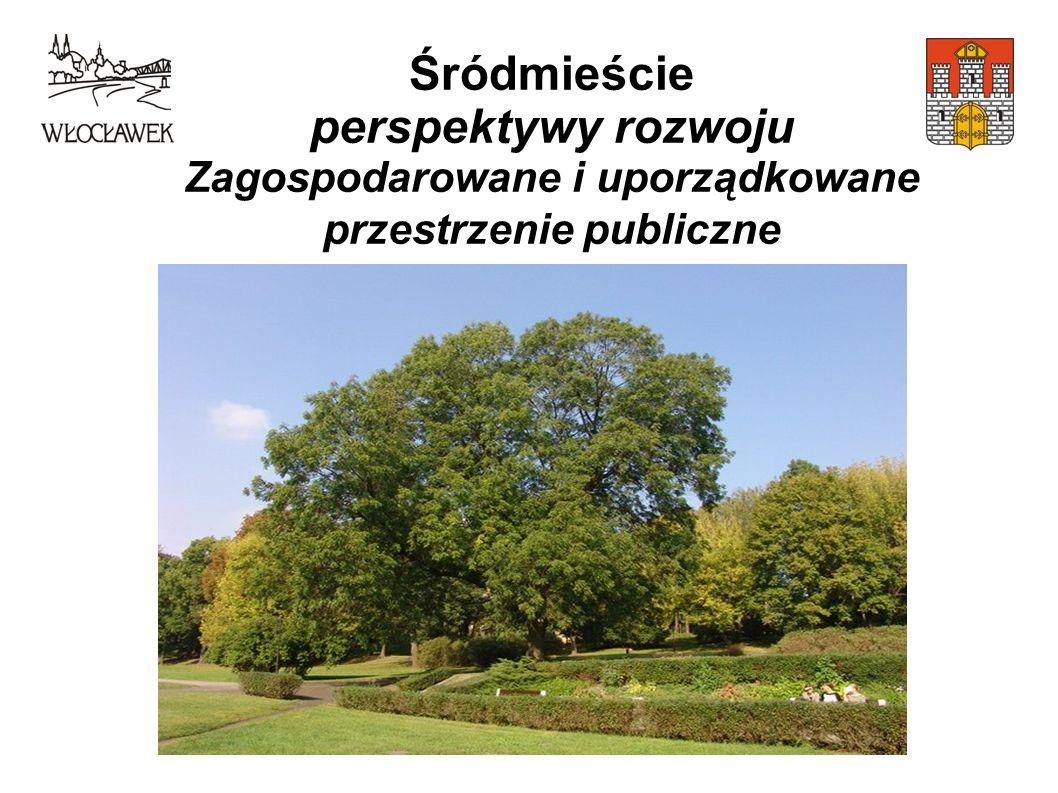 Śródmieście perspektywy rozwoju Zagospodarowane i uporządkowane przestrzenie publiczne