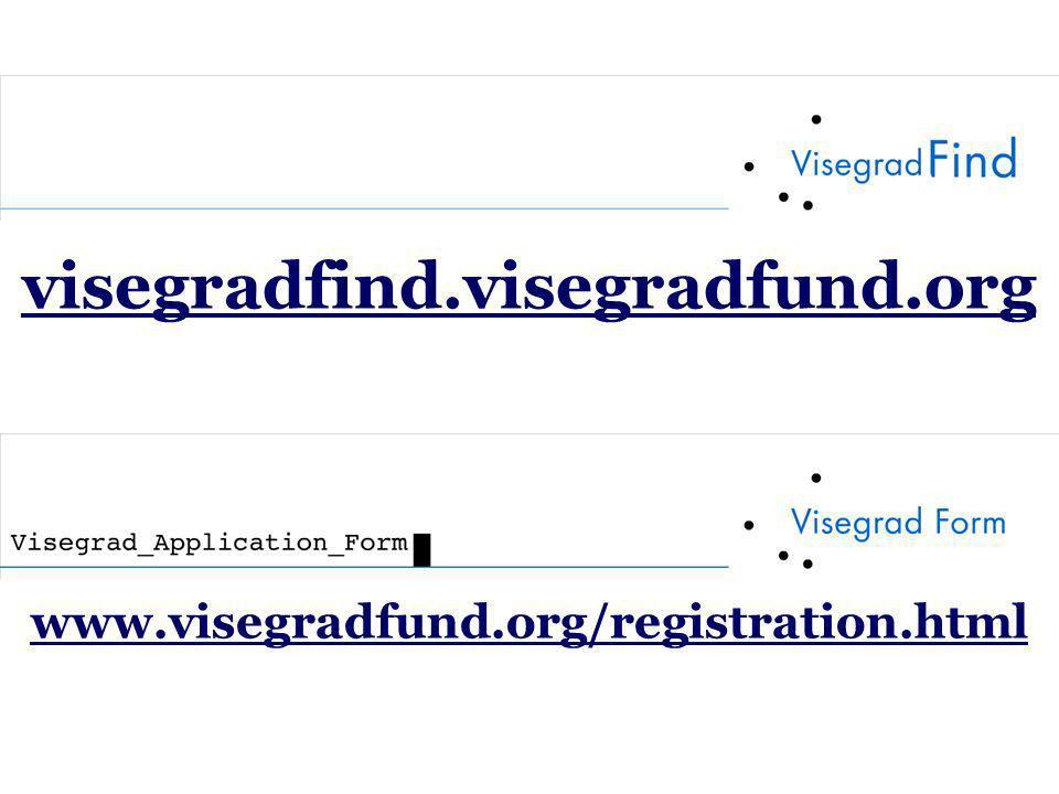 visegradfind.visegradfund.org www.visegradfund.org/registration.html