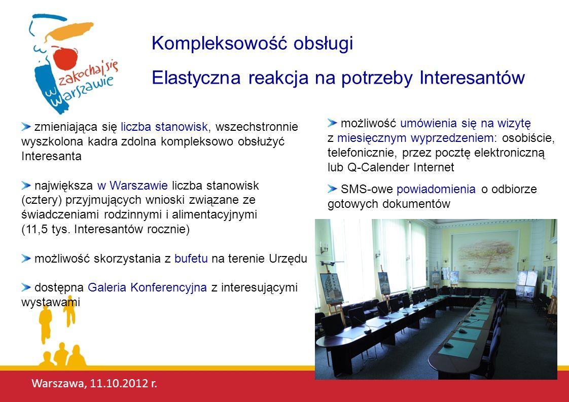 Warszawa, 11.10.2012 r.Dlaczego jesteśmy najlepsi.