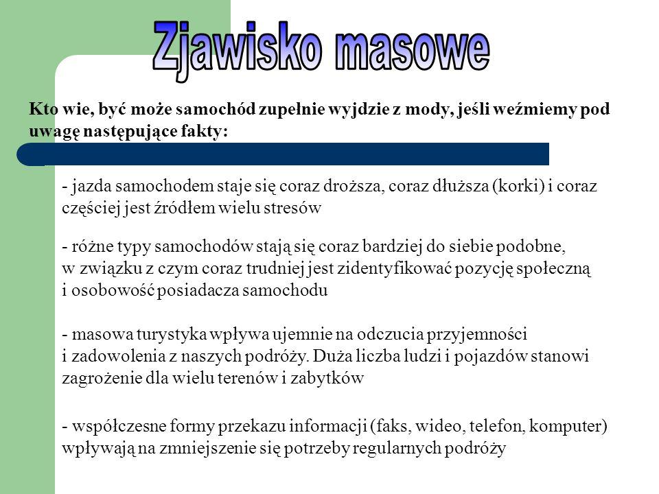 - Zjawisko masowe - Szanse i możliwości - Zalety czy wady - Ciekawostki