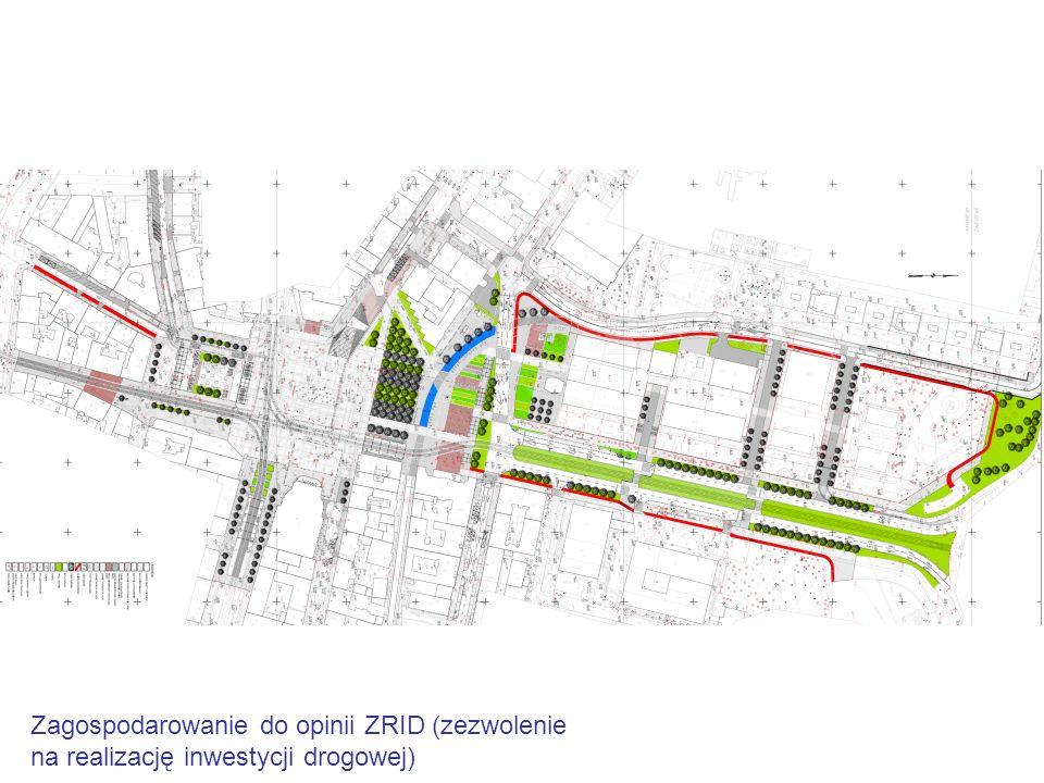 Zagospodarowanie do opinii ZRID (zezwolenie na realizację inwestycji drogowej)