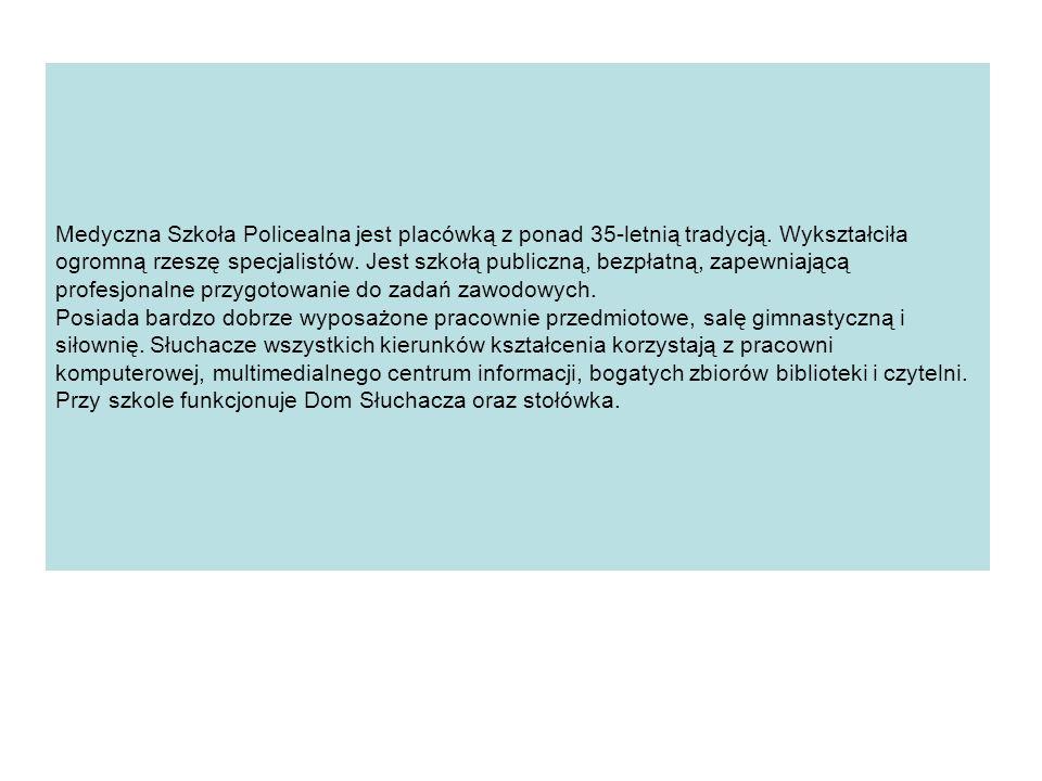 NABÓR NA ZAWODY: Opiekunka dziecięca Technik farmaceutyczny Technik masażysta Ratownik medyczny Asystentka stomatologiczna Technik usług kosmetycznych Opiekun medyczny (zaoczny) Technik elektroradiolog