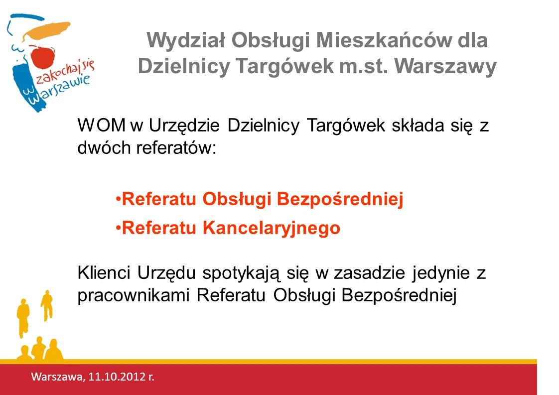 Warszawa, 11.10.2012 r.