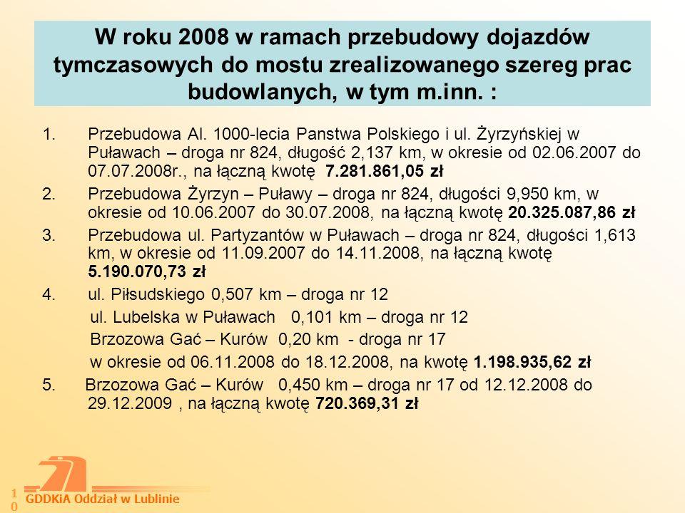 GDDKiA Oddział w Lublinie 11 6.