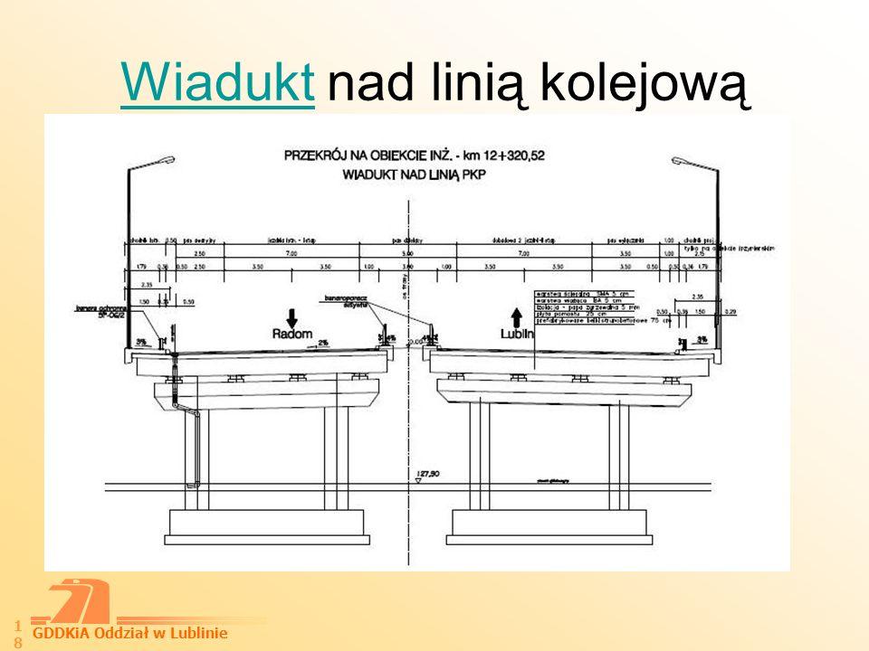 GDDKiA Oddział w Lublinie 19 MostMost przez rz. Kurówkę