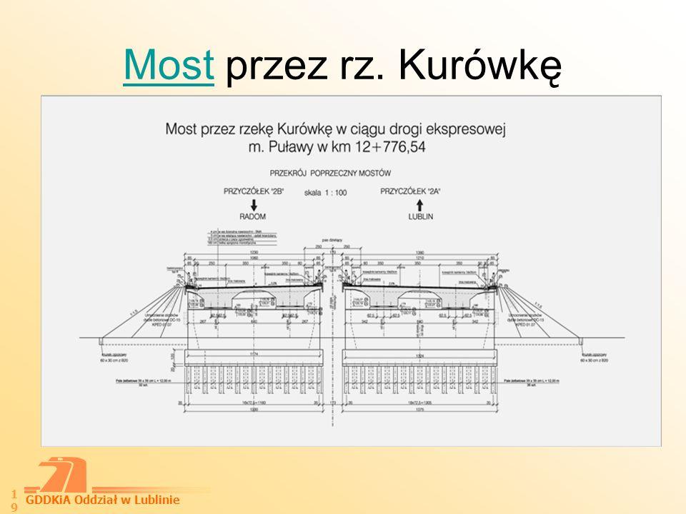 GDDKiA Oddział w Lublinie 20 Węzeł Azoty I i Azoty II