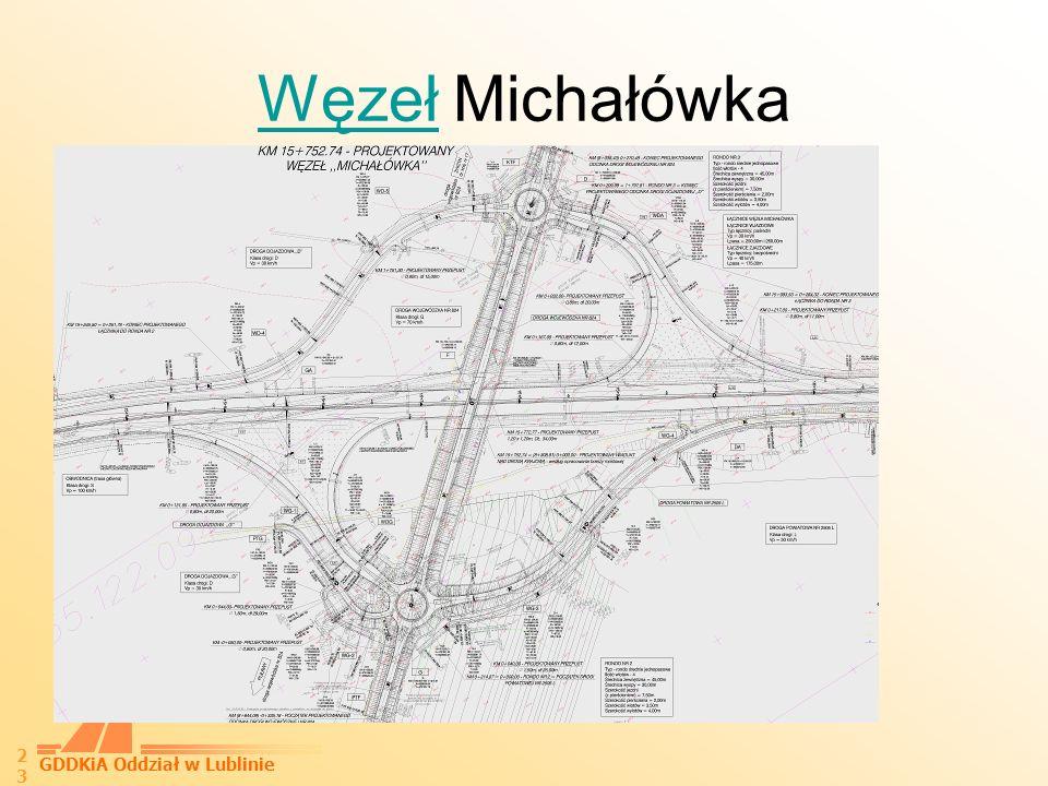 GDDKiA Oddział w Lublinie 24 Węzeł KońskowolaKońskowola