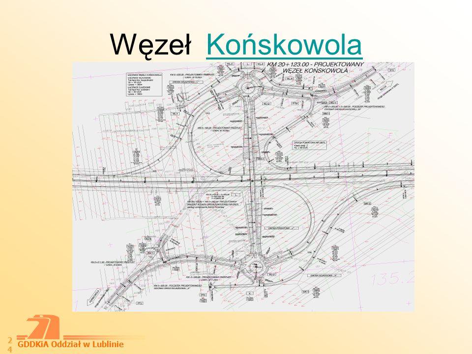 GDDKiA Oddział w Lublinie 25 Węzeł Sielce Etap I