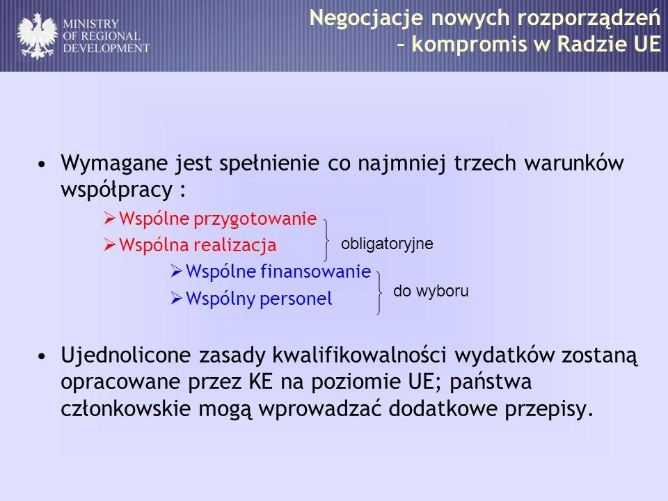 Główne zagadnienia Liczba programów na granicy polsko-niemieckiej Obszary wsparcia Wspólny system wdrażania Lokalizacja struktur programowych