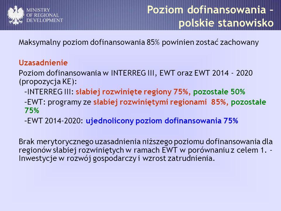 Ekspertyza Wyzwania i cele dla programów współpracy transgranicznej z udziałem Polski po 2013 roku Wykonawca: EGO – Evaluation for Government Organizations s.c.