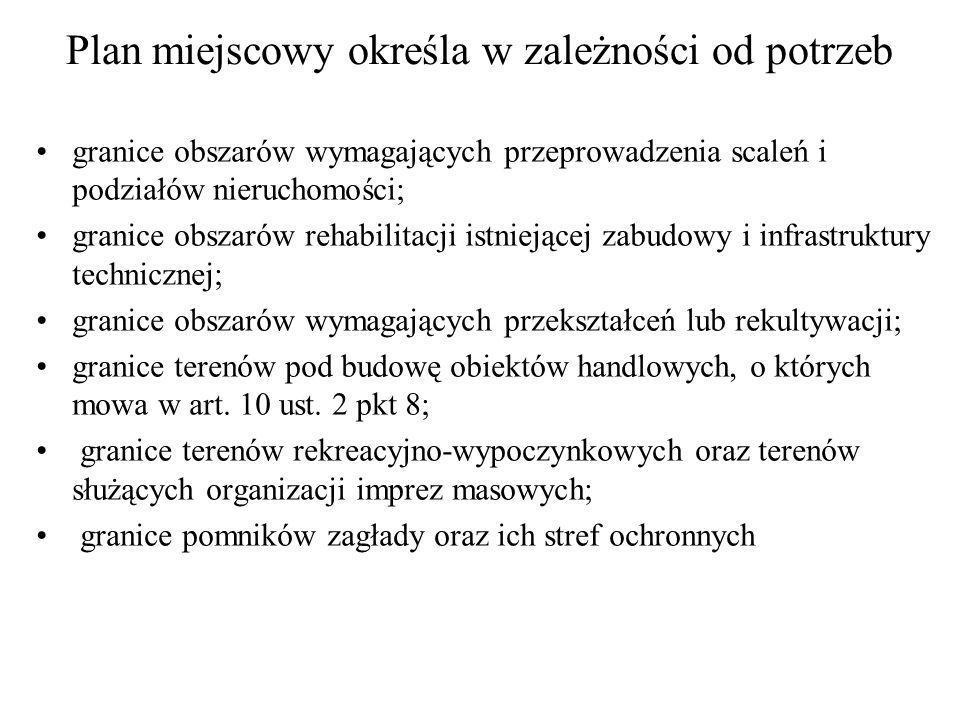 Etapy procedury sporządzania mpzp: 1.Uchwała Rady m.st.