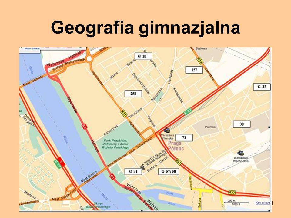 31 Geografia gimnazjalna