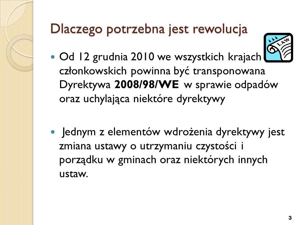 Sprawozdania Sprawozdania przedsiębiorców odbierających odpady komunalne – co kwartał (30 kwietnia 2012) gminy – co roku (31 marca 2013) urzędy Marszałkowskie – co roku (15 lipca 2013) Sprawozdanie: w szczególności osiągnięcie poziomów odzysku, recyklingu i ograniczenia składowania odpadów ulegających biodegradacji.