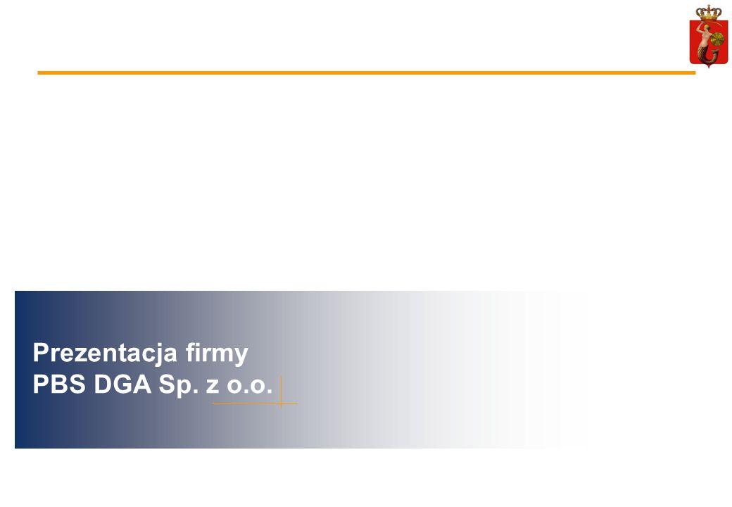 98 Prezentacja firmy PBS DGA Sp. z o.o.